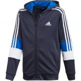 adidas - Must Haves Aeroready 3-Stripes Hooded Jacket Boys legend ink white team royal blue