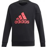 adidas - Must Haves Badge of Sport Sweatshirt Mädchen black real pink