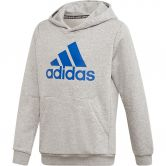 adidas - Must Haves Badge of Sport Hoodie Jungen medium grey heather collegiate royal