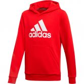 adidas - Must Haves Badge of Sport Hoodie Boys scarlet white