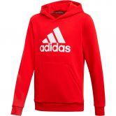 adidas - Must Haves Badge of Sport Hoodie Jungen scarlet white