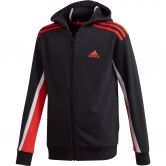 adidas - Bold Hooded Jacket Boys black hi-res red