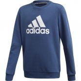 adidas - Must Haves Sweatshirt Jungen tech indigo white
