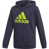 adidas - Must Haves Badge of Sport Pullover Boys legend ink semi solar slime