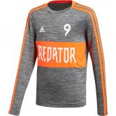 adidas - Predator Jersey Boys black grey three solar red
