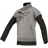 adidas - Urban Football Sweater Kinder medium grey heather black