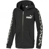 Puma - Amplified Hooded Jacket TR Boys puma black