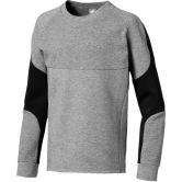 Puma - Evostripe Crew Sweatshirt Boys medium gray heather