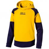 Puma - Alpha Advanced Hoodie FL B Kinder sulphur