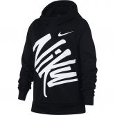 Nike - Dri-FIT Therma Graphic Training Hoodie Girls black white