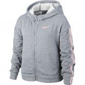Nike - Studio Kapuzenjacke Kinder carbon heather bleach