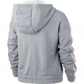 Nike - Studio Full-Zip Hoodie Kids carbon heather bleach
