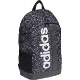 adidas - Linear Graphic Backpack Women black white