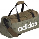 adidas - Linear Duffel Bag raw khaki black white