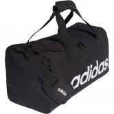 adidas - Linear Logo Duffel Bag S black white