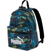 Puma - Phase Small Rucksack digi blue boys aop
