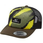 O'Neill - Trucker Cap Jungen yellow AOP W/green