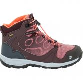 Jack Wolfskin - Grivla Texapore Mid G Girls dark red
