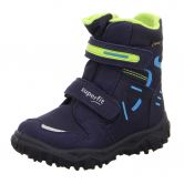 Superfit - Husky Snowboot Kids dark blue green estate