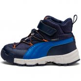 Puma - Maka Puretex V PS Winter Boots Kids peacoat jaffa orange