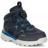 Ecco - Urban Hiker Stiefel Kinder black night sky