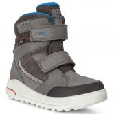 Ecco - Urban Snowboarder Stiefel Kinder black dark shadow olympian blue