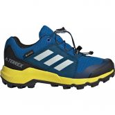adidas - Terrex GTX Shoes Hiking Kids blue beauty grey one shock yellow