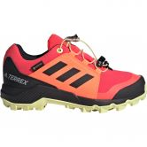 adidas - Terrex GTX Wanderschuhe Kinder shock red core black yellow tint