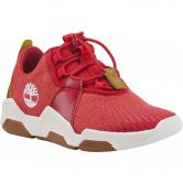 Timberland - Earth Rally Flexiknit Ox Sneaker Youth barbados cherry