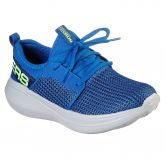 Skechers - Go Run Fast Valor Sneaker Kinder blau