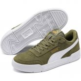 Puma - Caracal SD Jr Sneaker Kids deep lichen green puma white puma team gold