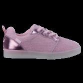 Brütting - Disco Low Blinki Sneaker Mädchen rosa