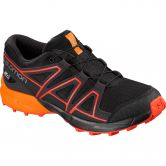 Salomon - Speedcross CSWP J Kinderschuh black tangelo cherry tomato