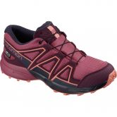 Salomon - Speedcross CSWP J Kids Shoe malaga potent purple desert flower