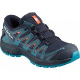 Salomon - XA Pro 3D CSWP J Kids Shoe navy blazer mallard bblue hawaiian blue