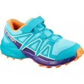 Salomon - Speedcross Bungee Kinder blue curacao