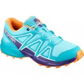 Salomon - Speedcross Laufschuh Kinder blue curacao