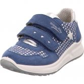 Superfit - Merida Leather Sneaker Girls blue