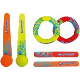 Schildkröt Fun Sports - Diving Set yellow orange red