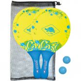 Schildkröt Fun Sports - Neopren Beachball Set neon gelb blau