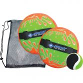 Schildkröt Fun Sports - Neoprene Klettball Set neon orange grün