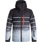 Quiksilver - Mission Engineered Jacke Jungen black blur lights