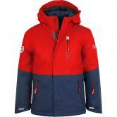 Trollkids - Hallingdal Ski Jacket Kids bright red mystic blue
