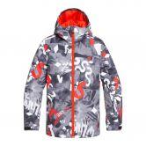 Quiksilver - Mission Ski Jacket Kids poinciana giantforce