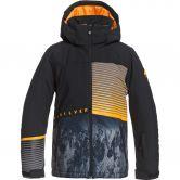 Quiksilver - Silvertip Snow Jacket Boys true black parafinum