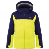 KJUS - Speed Reader Ski Jacket Boys citrus yellow south blue