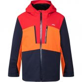 KJUS - Juniors Snow Rock Jacket Kids atlanta scarlet