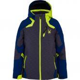 Spyder - Leader Ski Jacket Kids liner emboss ebon