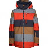 Protest - Trade JR Skijacke Kinder orange fire