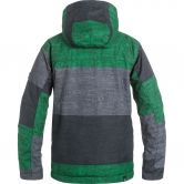 Quiksilver - Mission Printed Youth Jacke Jungen stripe jolly green